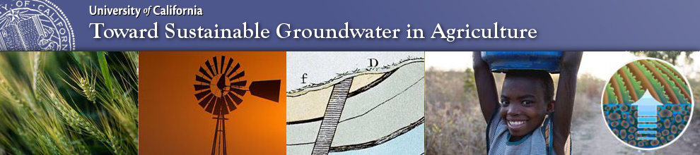 Toward Sustainbable Groundwater in Agriculture